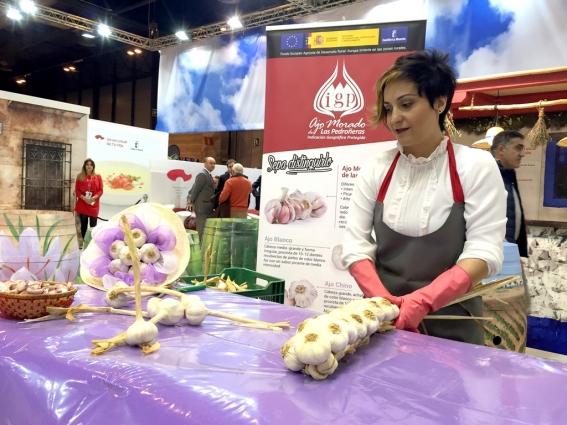 La Feria del Ajo de Las Pedroñeras en su edición del año pasado.
